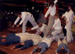 Performing at Convention